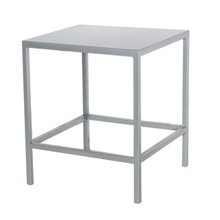 Silver Cube Table