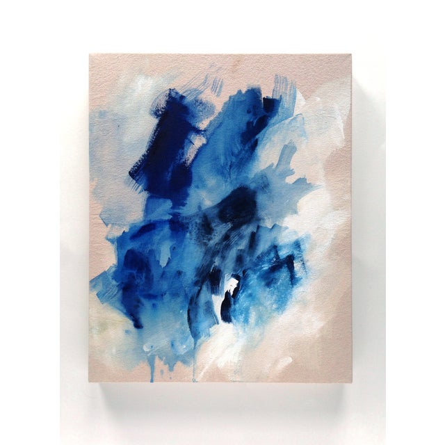 "Dani Schafer ""Searching I"" 2016 Abstract Painting - Image 2 of 2"