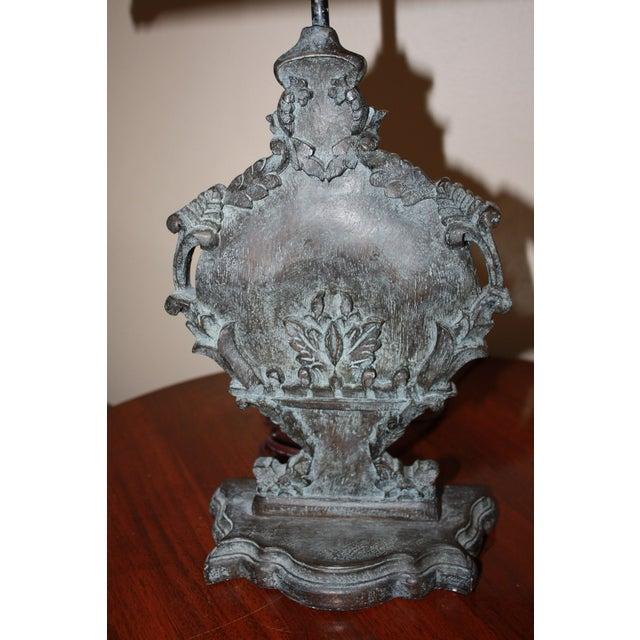 Josephine Urn Lamp with Shield Shade - Image 2 of 2