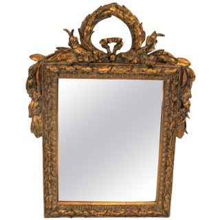 Italian Laurel Wreath Crown Mirror