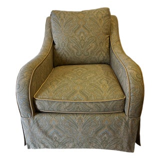 Custom Made Paisley Arm Chair