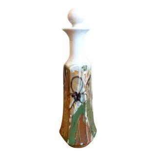 Drip Glaze Pottery Decanter