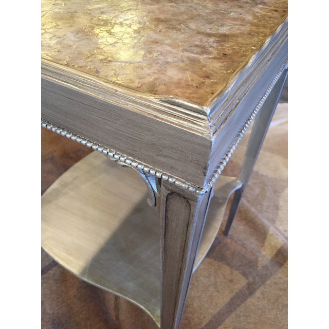 Transitional Mica Top Accent Table - Image 3 of 4