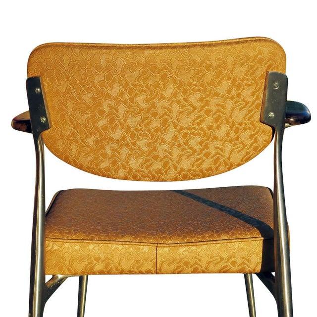 Aluminum Gazelle Armchairs- Set of 4 - Image 8 of 8