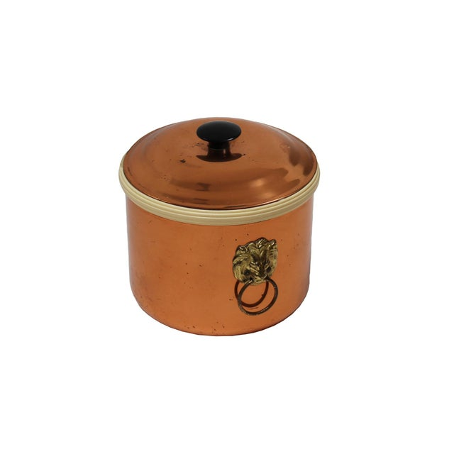 Image of Vintage Copper Ice Bucket