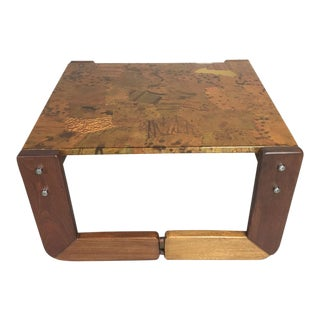 Percival Lafer Rosewood Side Table