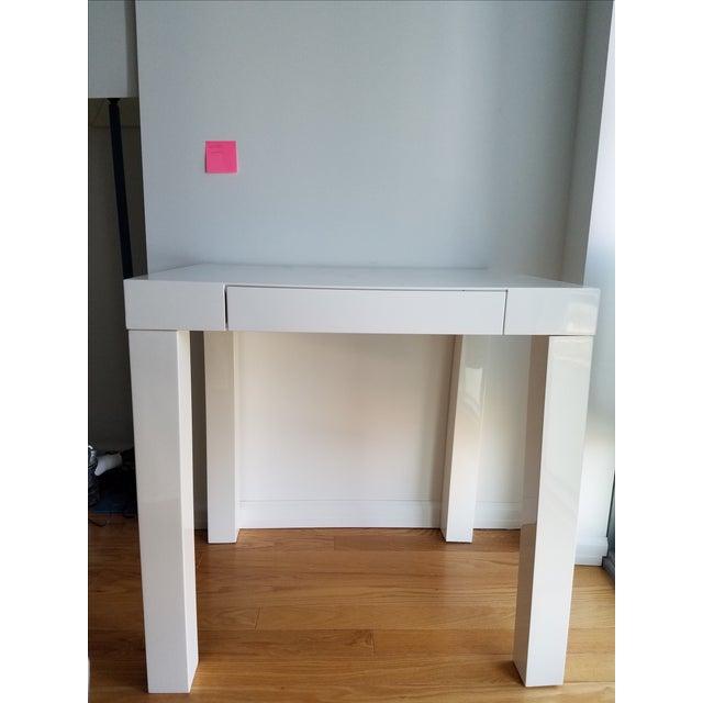 West Elm Parsons Mini Desk Chairish