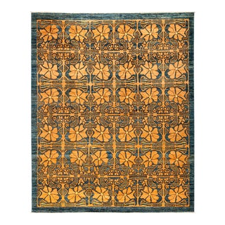 New Hand Knotted Area Rug - 8' x 9'9""