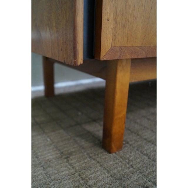 Danish Modern Style Teak Buffet Base Hutch Cabinet - Image 7 of 10
