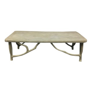 Restoration Hardware Faux Boise Arboretum Coffee Table