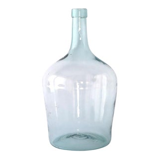 Vintage Glass Demijohn