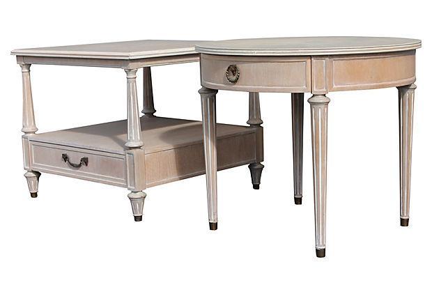 1960s Vintage Henredon Mid Century Ceruse Nightstands S  : 1960s vintage henredon mid century ceruse nightstands s2 9614aspectfitampwidth640ampheight640 from www.chairish.com size 620 x 620 jpeg 27kB