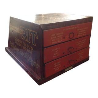 Mid-Century Industrial Metal Drawrs Cabinet