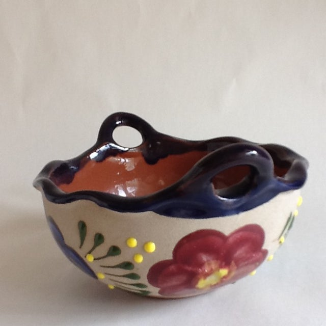 Vintage Handmade Pottery Bowl - Image 7 of 9