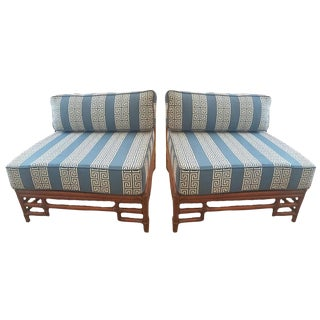 Ficks Reed Side Chairs - A Pair