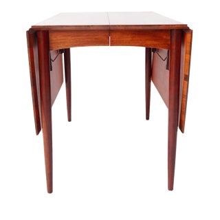 Vintage Mid-Century Modern Teak Drop Leaf Dining Table