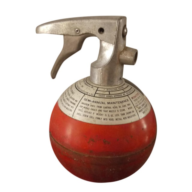 Image of Round Red Fire Extinguisher