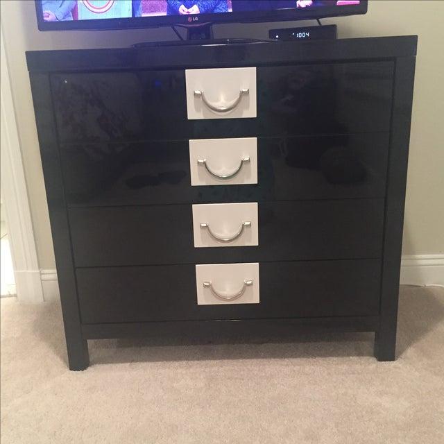 Image of Black Tie Lacquer Dresser