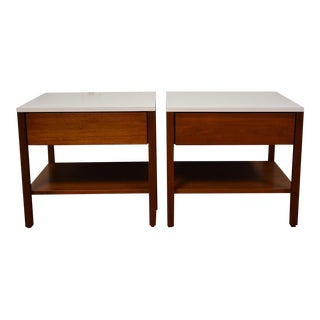 Florence Knoll Nightstands or End Tables - a Pair