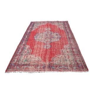 Turkish Handmade Wool Rug - 5′8″ × 8′9″