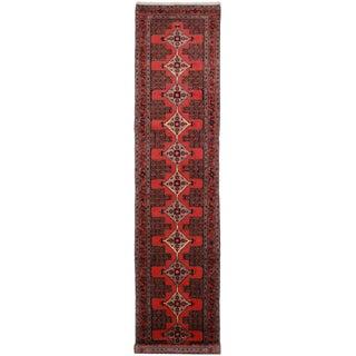 "Vintage Wool Persian Seneh Runner - 2'10"" x 12'10"""