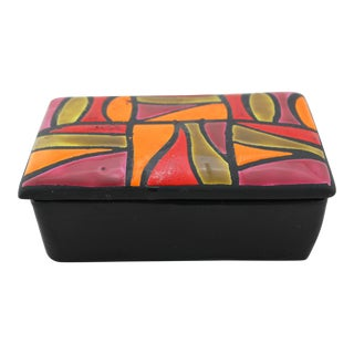 Aldo Londi for Bitossi Mid-Century Ceramic Box