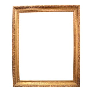 Antique Gold Wooden Picture Frame