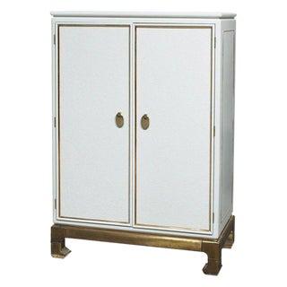 Mastercraft White Armoire Cabinet