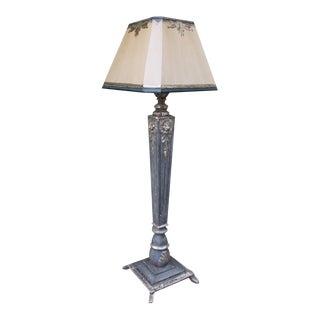 Italian Carved Gilt Standing Lamp