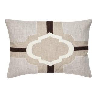 "Piper Collection Natural Linen ""Sophia"" Pillow"