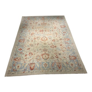 "Bellwether Rugs Vintage Inspired Turkish Oushak Area Rug - 10'3"" x 14'8"""