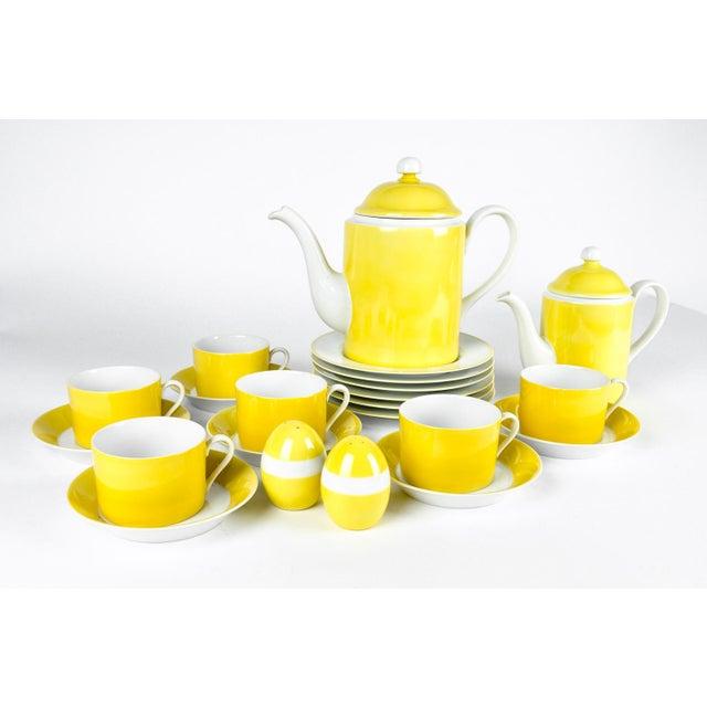 Vintage Lemon Porcelain Luncheon Service - Image 2 of 11