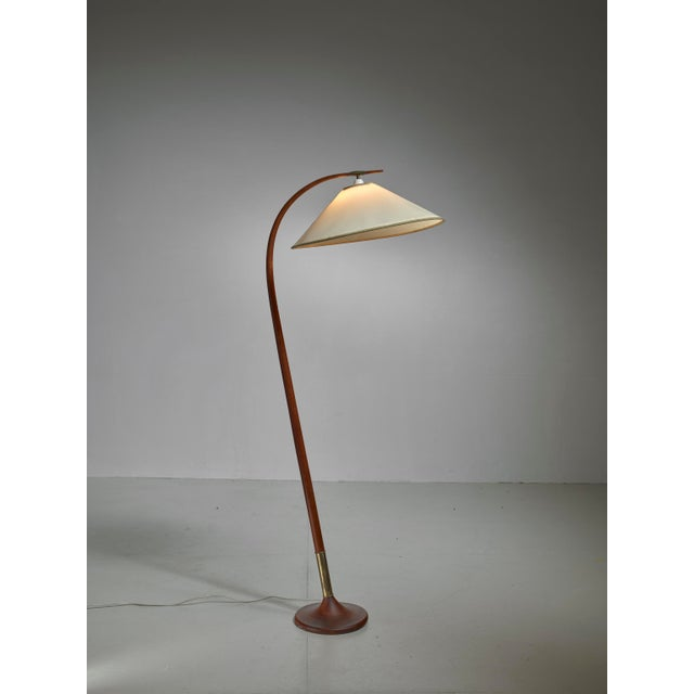 Severin Hansen Floor Lamp, Denmark, 1950s - Image 2 of 5