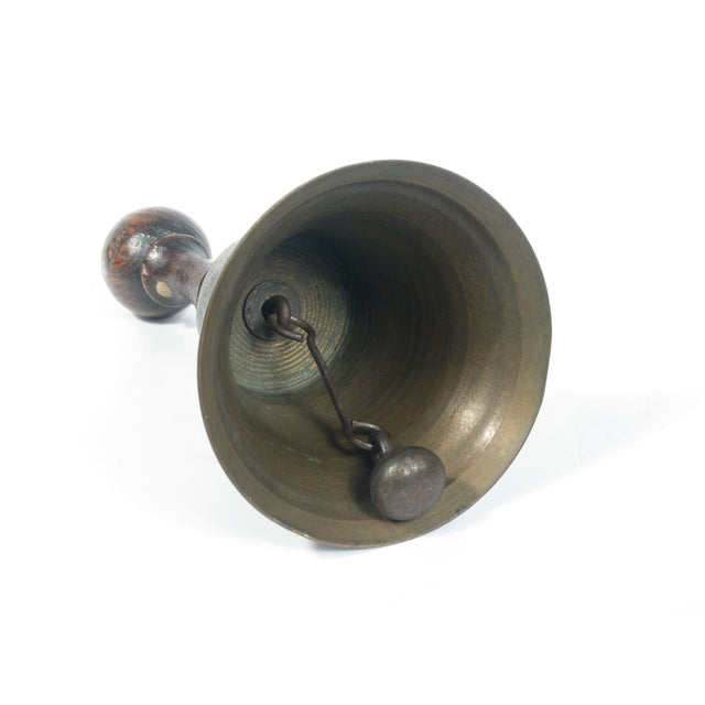 Antique Brass Bell - Image 2 of 3