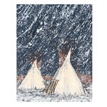 Image of Kevin Red Star - First Snow Serigraph