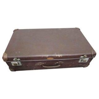 Vintage Brown Luggage Suitcase