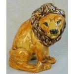 Image of Mid-Century Italian Safari Lion