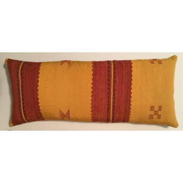 Moroccan Cactus Silk Pillow - A Pair - Image 3 of 11
