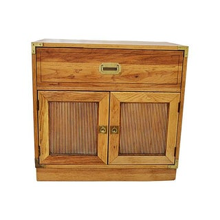 Campaign-Style 2-Door Cabinet