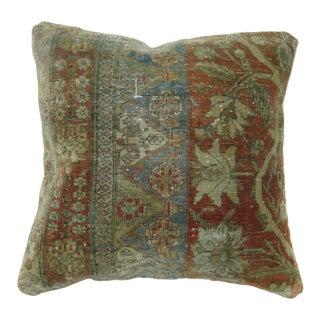 19th Century Mohtasham Kashn Rug Pillow