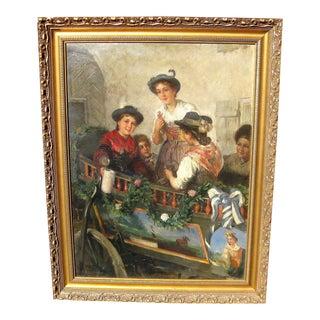 Friedrich Anton Otto Prolss Oil Painting