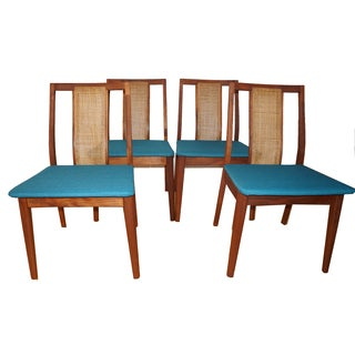 Vintage Mid Century Dining Chairs - Set of 4