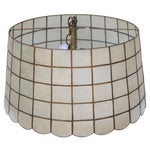 Image of 1970s Capiz Shell Pendant Light