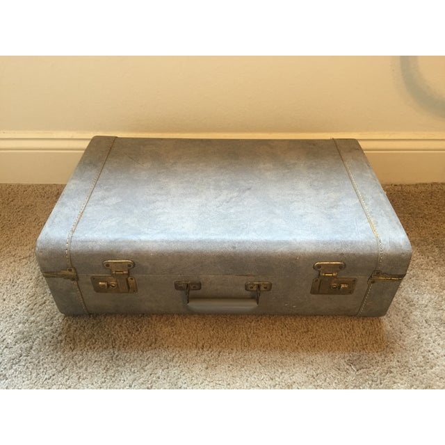 1940s Light Blue Suitcase - Image 3 of 8