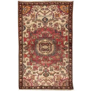 "Apadana - Vintage Persian Rug, 4' x 6'4"""