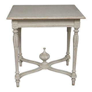 Oblong Swedish Neoclassical Table (#62-43)
