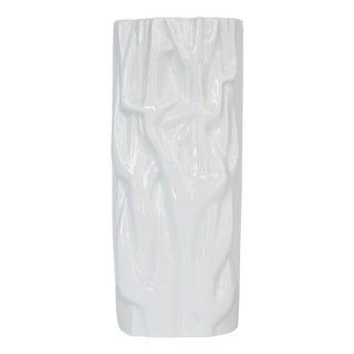 Meissen White Porcelain Modernist Vase