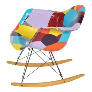 Early Eames 1950s Rocker Updated by Artist Jim Oliveira