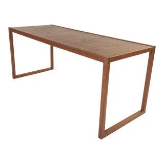 Vintage Narrow Danish Coffee Table by Komfort