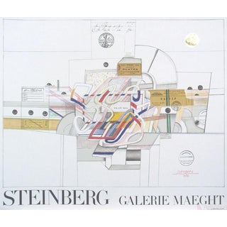 Saul Steinberg, Ticket, 1977 Lithograph
